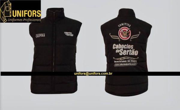Colete Personalizado - Unifors  Uniformes Profissionais em Curitiba 7c5e344743c67