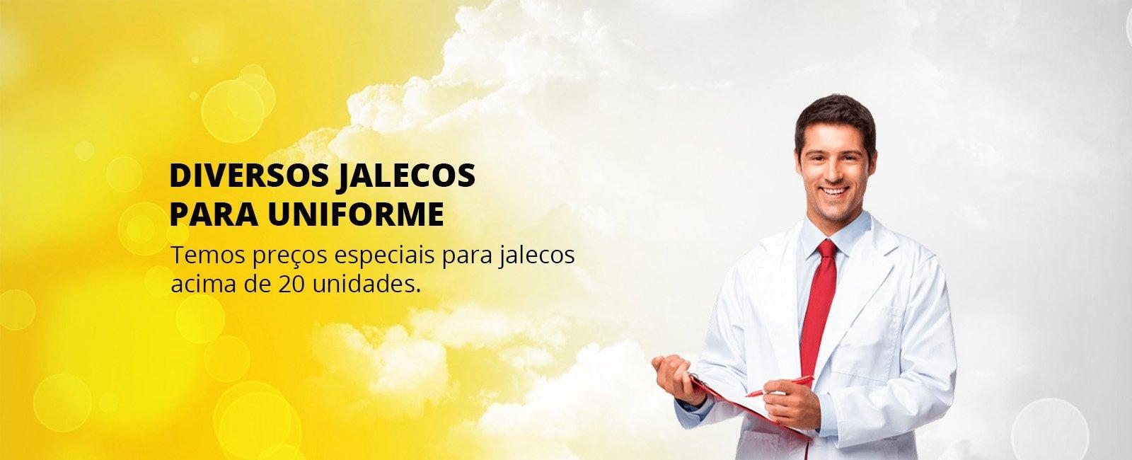 Jalecos Para Uniforme em Curitiba